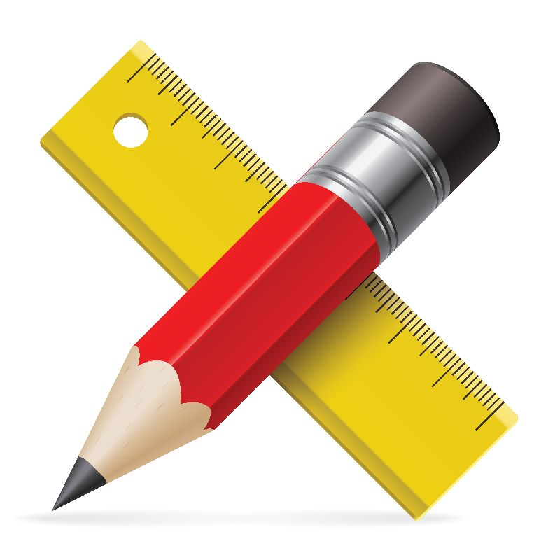 technical writing training is about writing in measured way which is denoted by a pencil and scale in this pic. for article on Technical Writing Training in Lucknow.